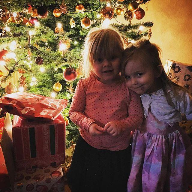 Frohe Weihnachten wünschen meine Nichten