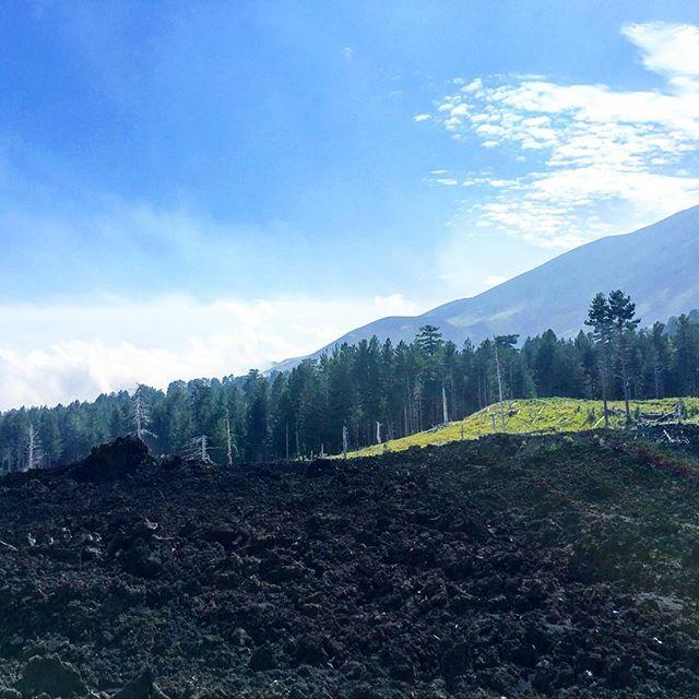 In 1800 Metern Höhe eine beeindruckende Szenerie bestaunen #sicily #etna