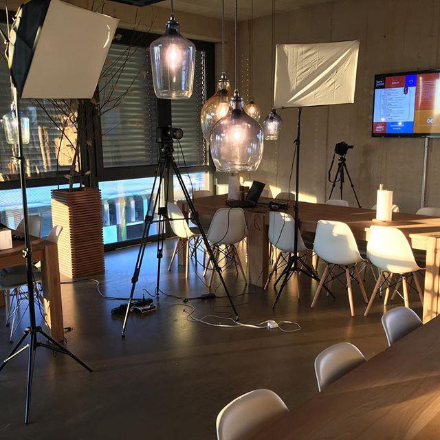 Im kernpunktTV-Studio