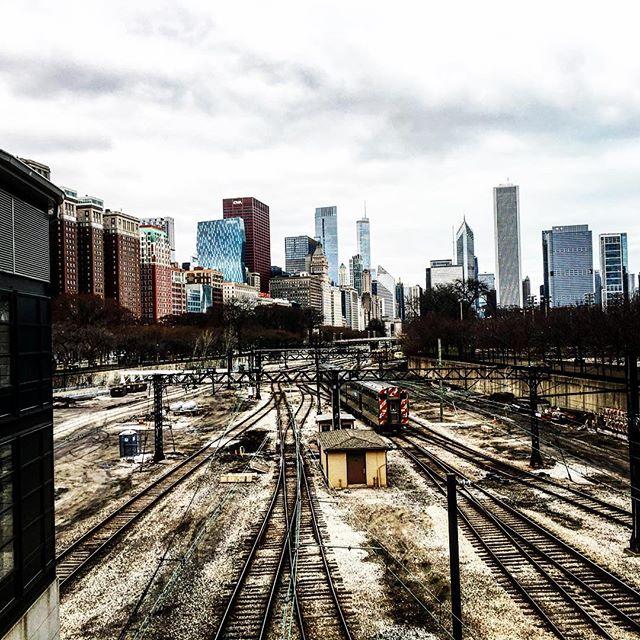 Moderne Schieneninfrastruktur #Chicago