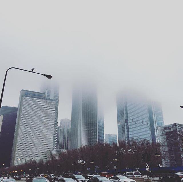 Ein bisschen wolkig hier in #Chicago