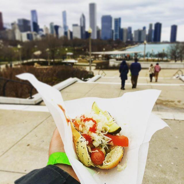 Original Chicago Style Hot Dog ? #Chicago #hotdog