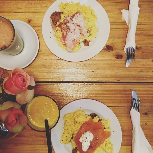 Leckeres Frühstück gehabt. #breakfast