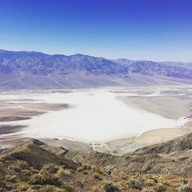 Beste Aussicht auf das Death Valley #roadtrip #california #deathvalley