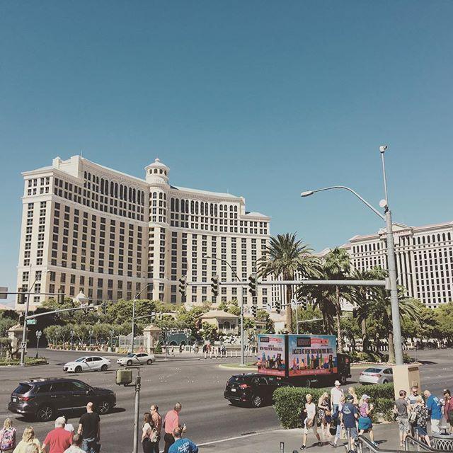 Vegas Baby! #lasvegas #roadtrip #nevada