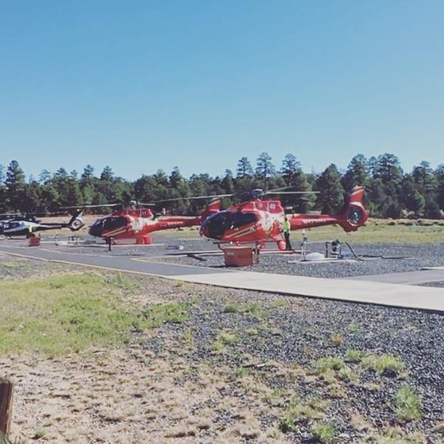 Freue mich schon riesig auf den Hubschrauber-Rundflug über den Grand Canyon! #roadtrip #heli #grandcanyon #papillon