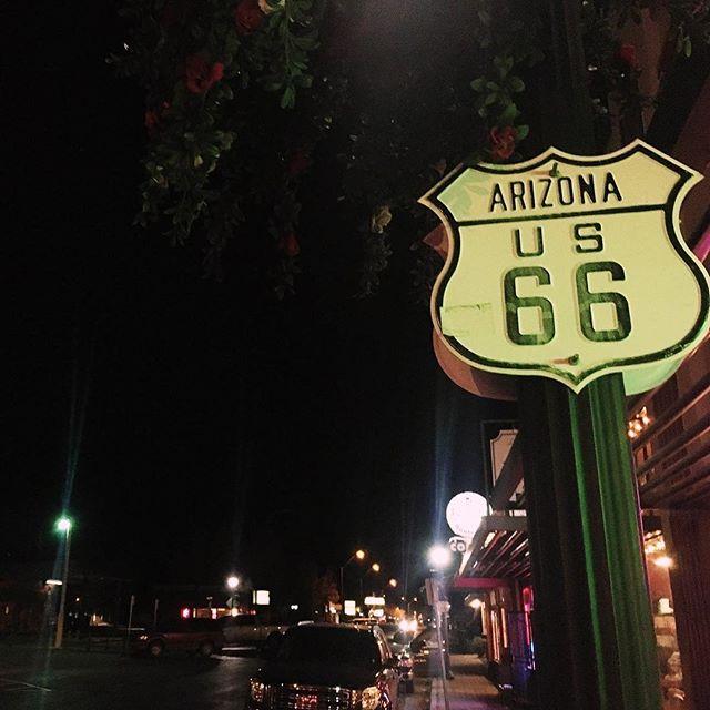 Wir sind im Städtchen Williams an der Route 66 gelandet. #roadrrip #route66 #arizona