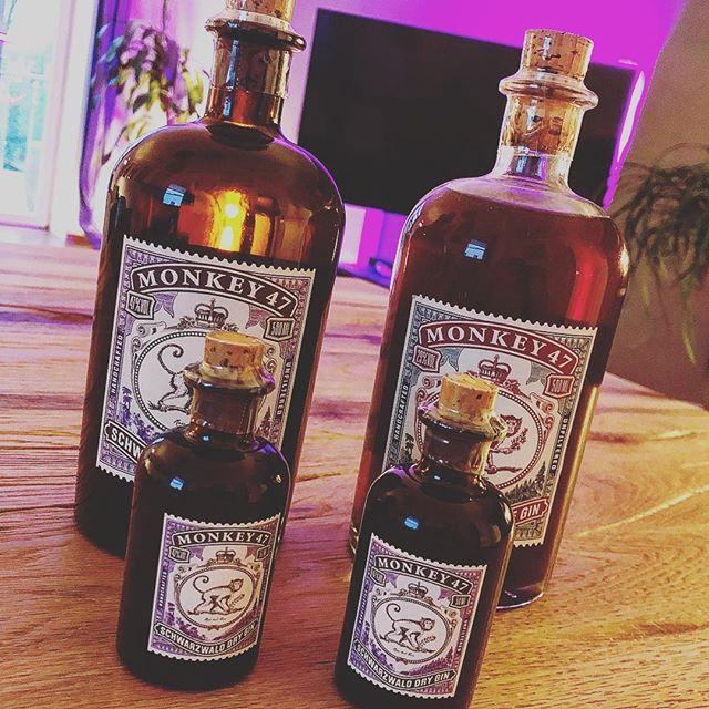 Mein Lieblings-Gin ist auch in klein verfügbar - sozusagen für die Hosentasche ️ #gintonic #gin #monkey47