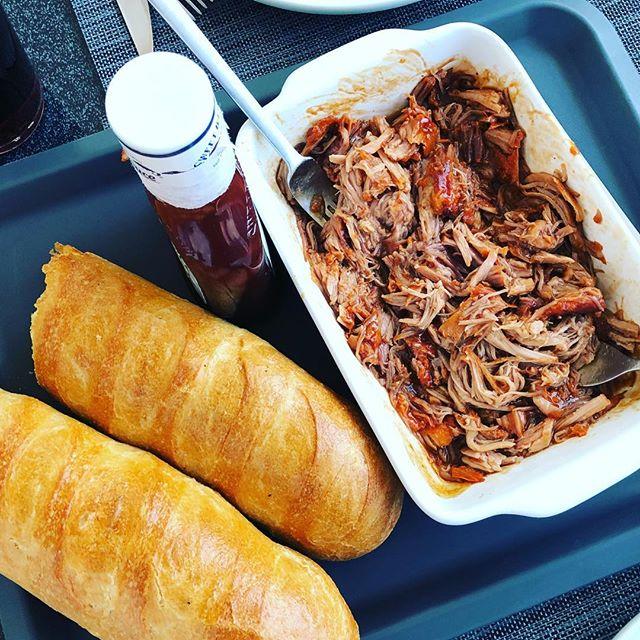 Leckeres Pulled Pork gegessen! #bbq