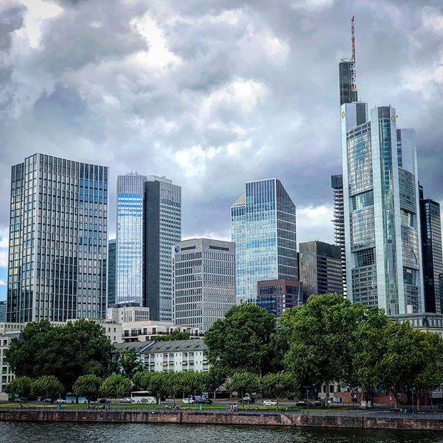 Endlich mal wieder in Frankfurt gewesen! #fra #eisernersteg