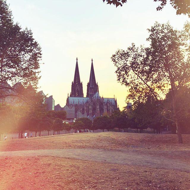 Herrliche Stimmung in Köln